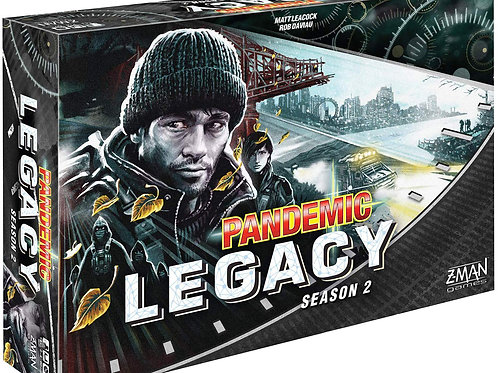 Pandemic Legacy Season 2 Black Edition