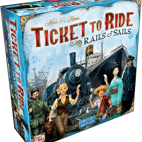 Ticket to Ride EP: Rails & Sails