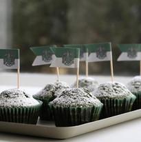 Cupcake Serpentard