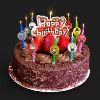 Bougies d'anniversaire Personnages d'Harry Potter