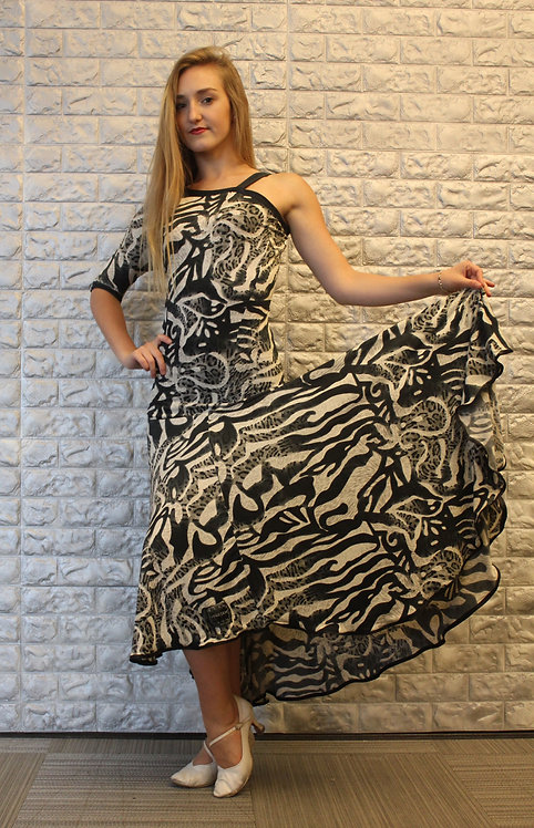 Zebra Print Smooth/Standard Dress