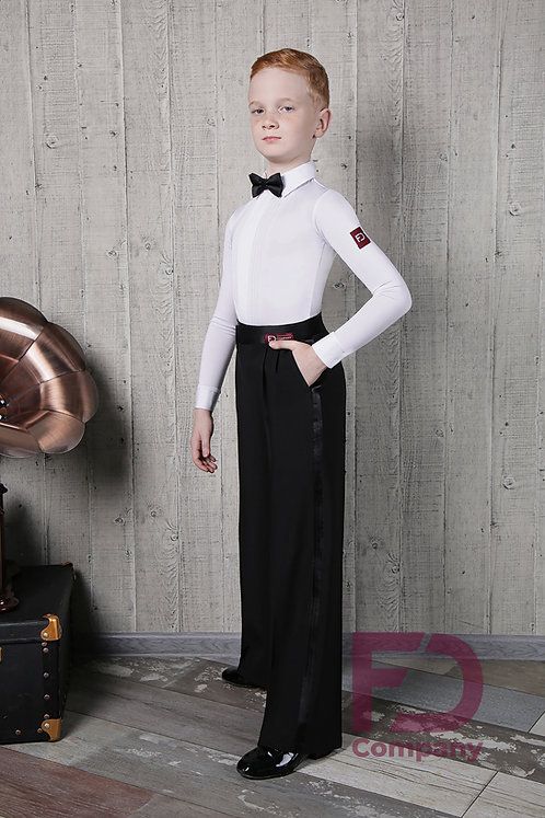 Dance Pants with satin strap and belt