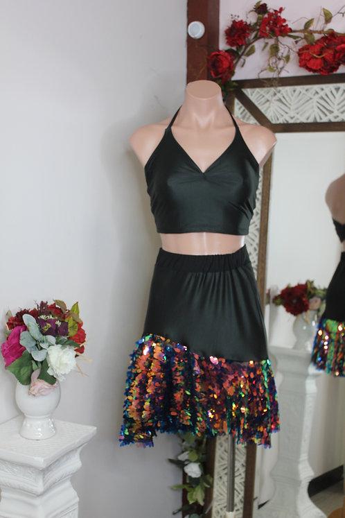 Sequin Frenzy Skirt