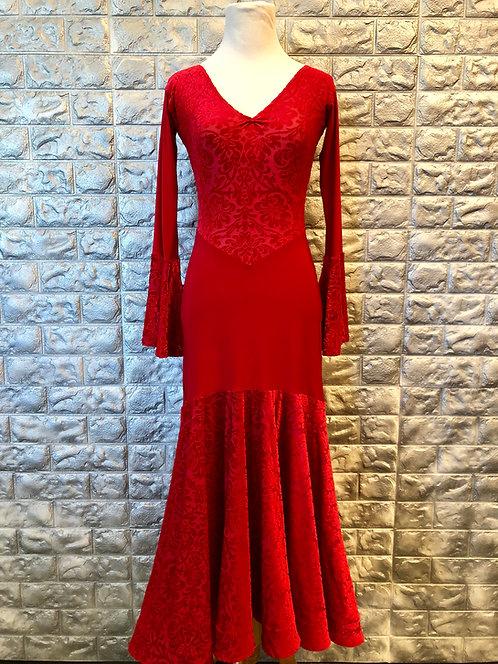 Red Velvet Practice Dress
