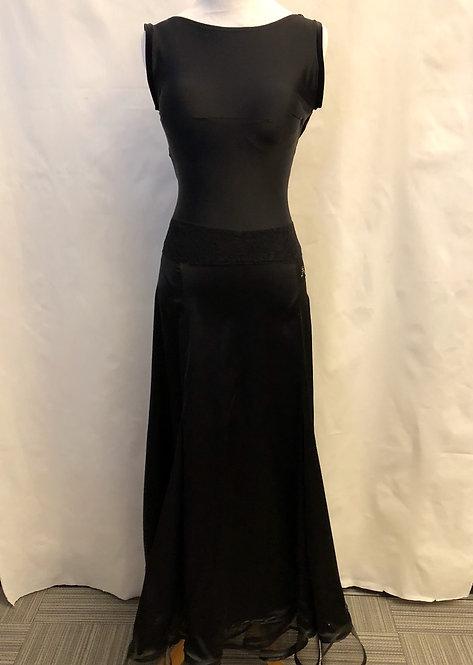 Black Velvet Practice Dress