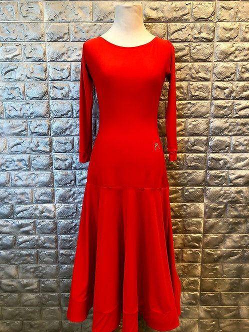 Bright Red Practice Dress