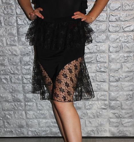 Lace Latin Skirt