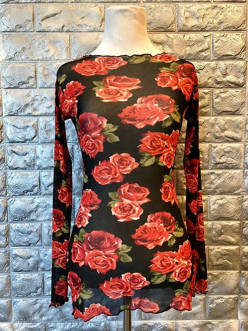 Rose Mesh Shirt