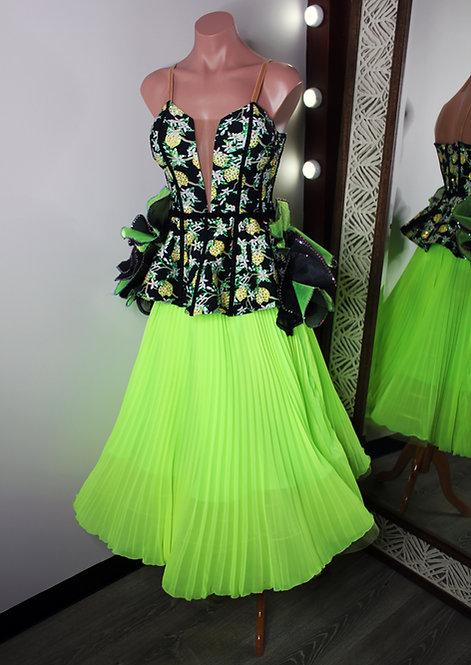 Lemon Corset Dress