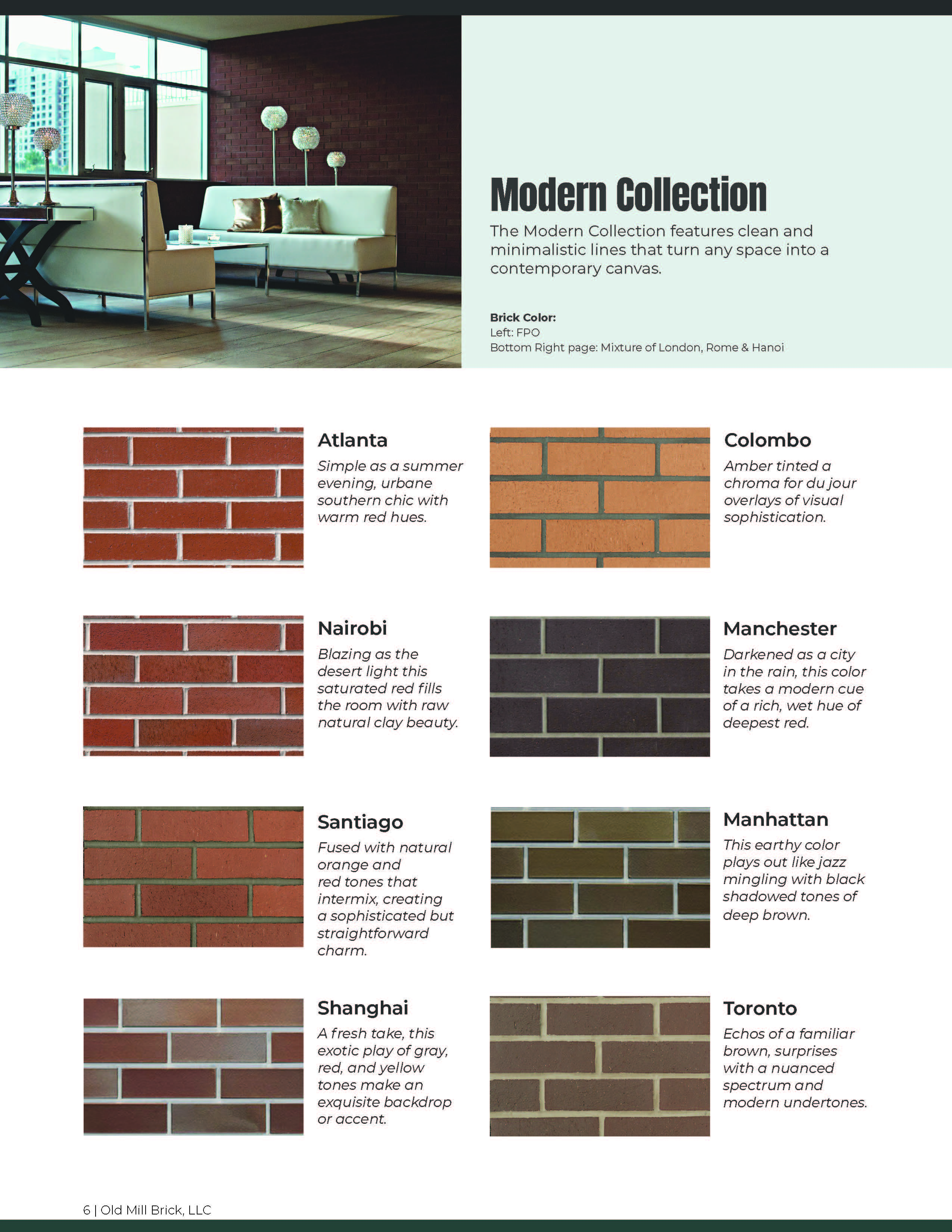 Color Guide Catalog Typical Page