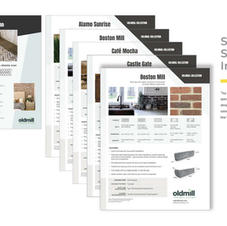 OLD MILL SPEC SHEETS