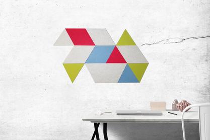 J2 Felt Tiles Triangle