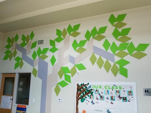 J2 PET Felt Classroom Mosaic