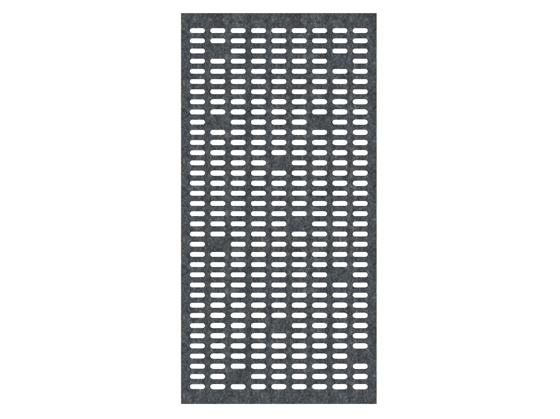 J2 PET Felt Room Divider - Punch Card.pn