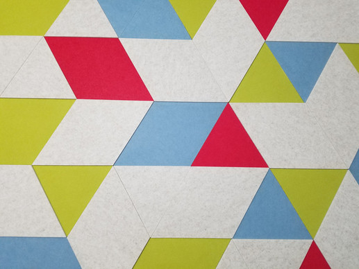 J2 Felt Tiles Triangle and Parallelogram