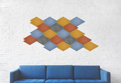 J2 Felt Tiles Scale