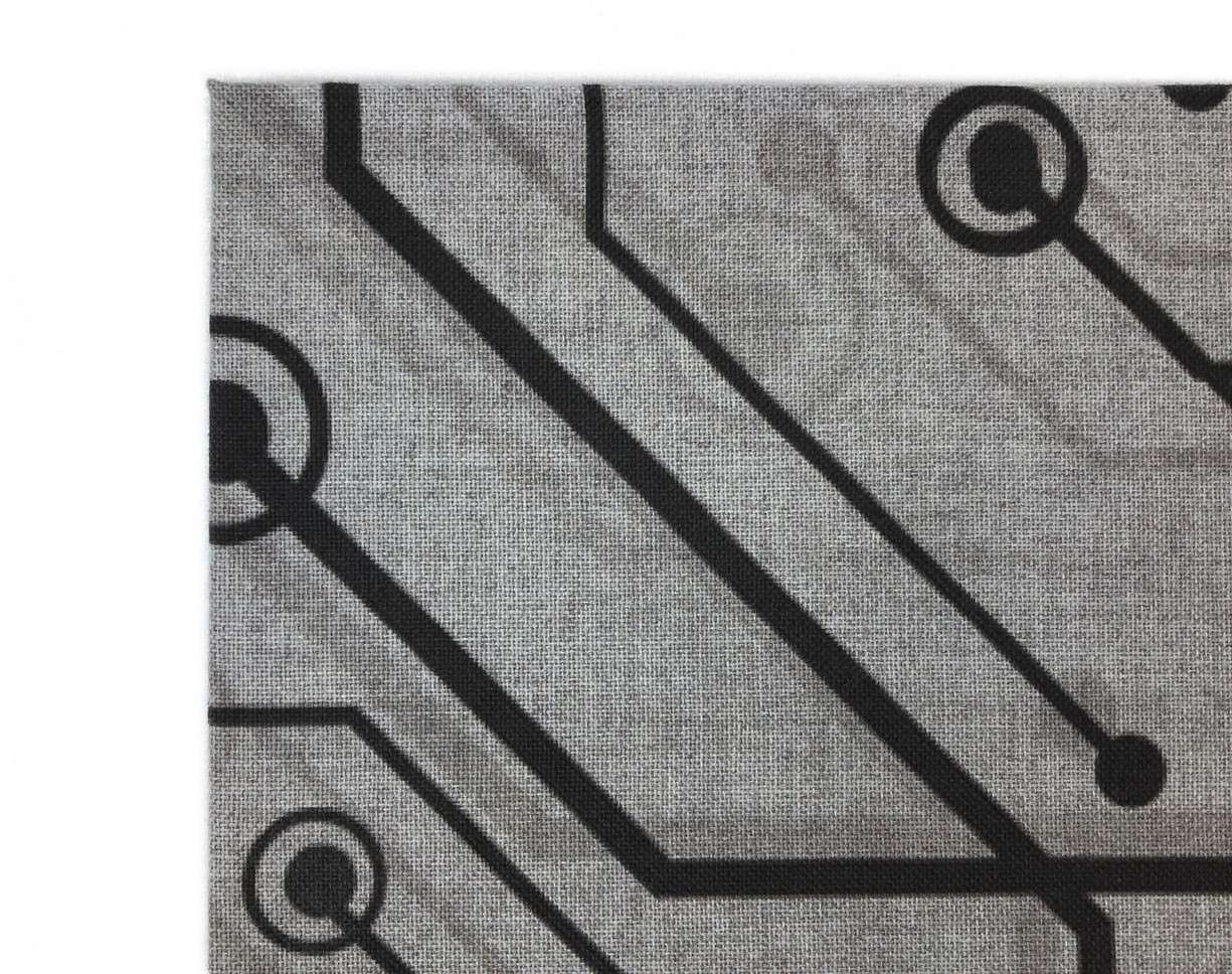 J2 Fabric Wrapped Panel Printed Detail.J