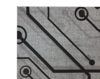 J2 Fabric Wrapped Panel Printed Detail.J