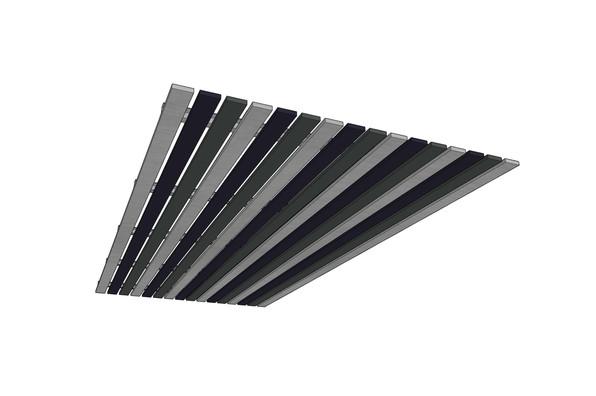 J2 PET Felt Slat Linear Ceiling System.j