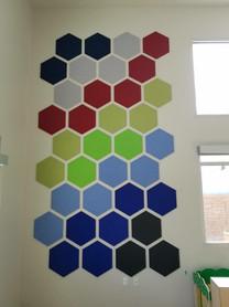 J2 Felt Tiles Hexagon