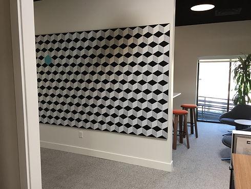 J2 Systems PET Felt Mosaic Wall