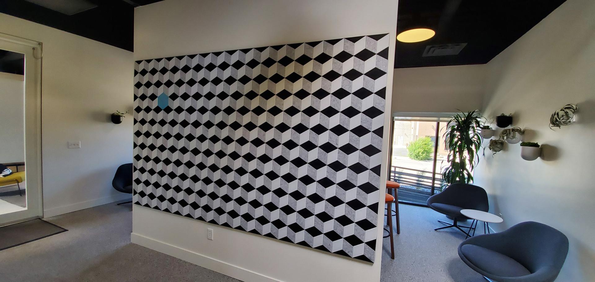 J2 Felt Tiles Parallelogram