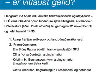 Samkeppni og fiskvinnsla - er vitlaust gefið?