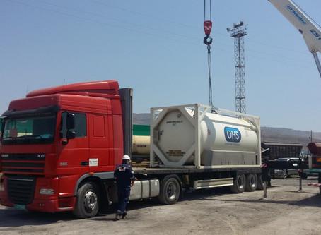 Transport of liquid nitrogen