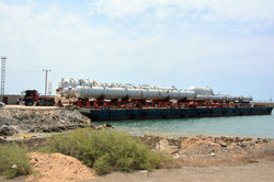 Kardelen Barge Loaded with Cargo
