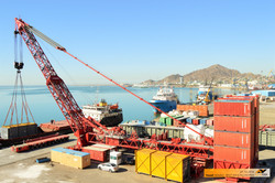 Crane Operations at Port