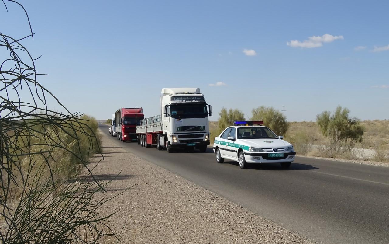 Road convoy