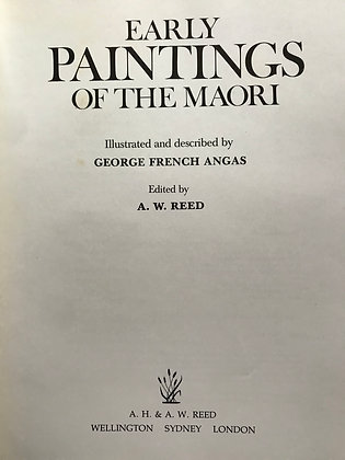 Early Paintings of the Maori