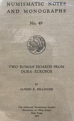 Two Roman Hoards from Dura-Europos