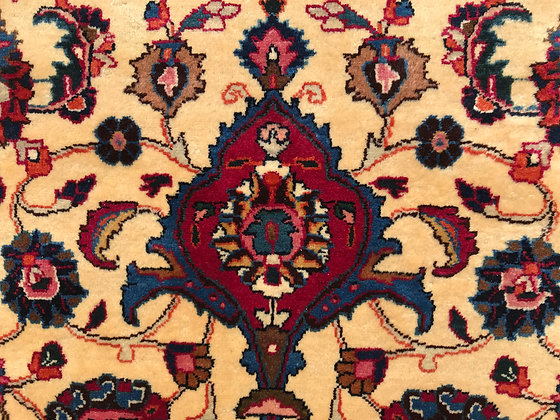 Large and luscious high-quality Persian carpet