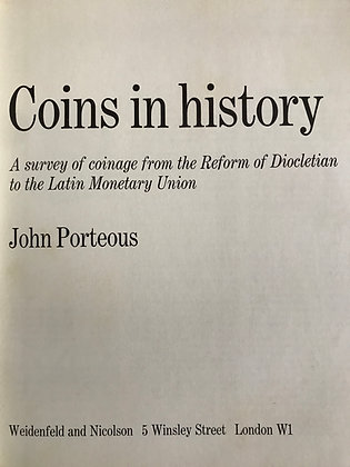 Coins in History