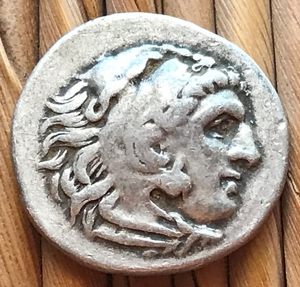Ancient Greek - drachm issued by Philip III Arrhidaios (323 - 317 BC)