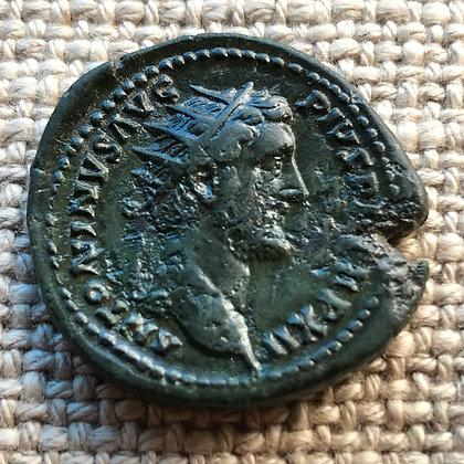 Roman Empire. Antoninus Pius (138 – 161 AD) bronze dupondius