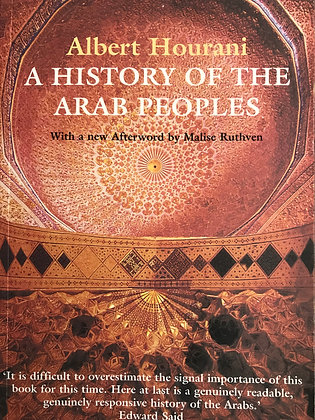 SOLD A history of the Arab Peoples