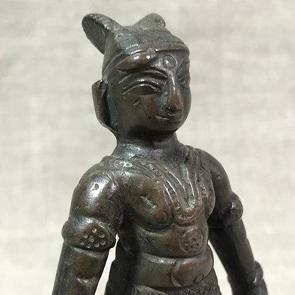 Indian 18-19th century bronze statue