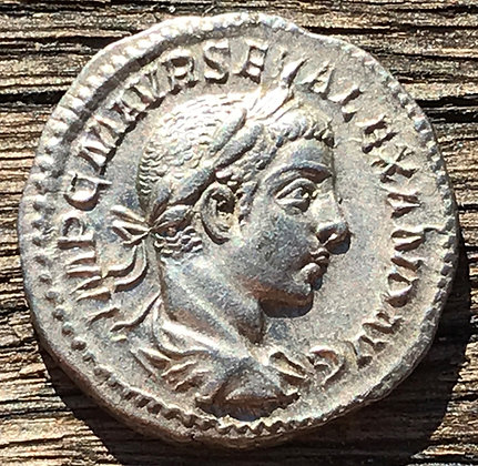 Roman Empire – Severus Alexander (222-235 AD) denarius