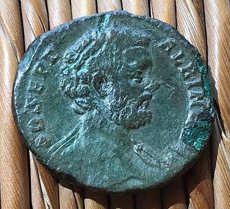 Roman Empire. Clodius Albinus (193 – 197 AD). Bronze sestertius.