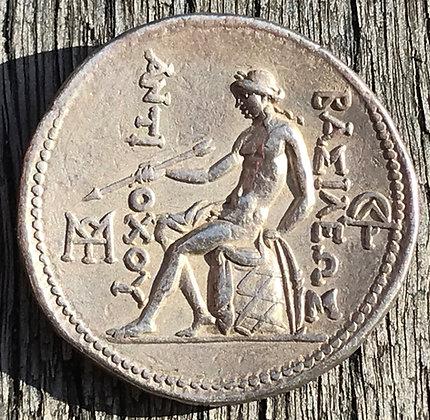 Ancient Greek silver tetradrachm – Antiochus I Soter (281 – 261 BC)