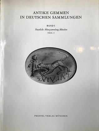 Antike Gemmen in Deutschen Sammlungen, Band I, Staatliche Munzsammlung, Munchen