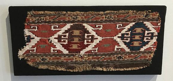 Border fragment from a North West Persian mafrash (bedding bag)