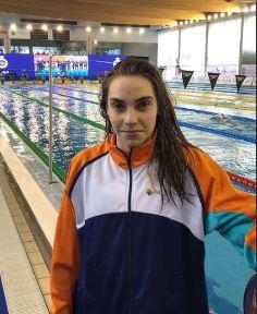 Ines Sancho convocada con la Selección española de natación