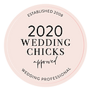 2020 Wedding Chicks approved wedding professional