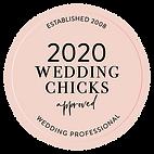 2020 Wedding Chicks approved wedding professional