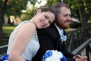 Heather and Scott Docherty at their wedding