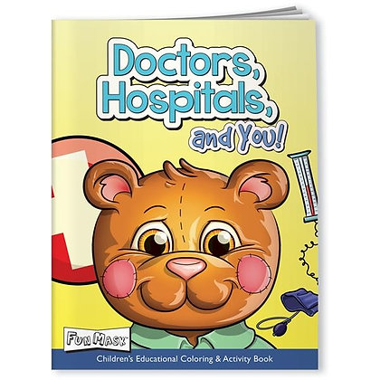 Fun Mask Coloring Book --Doctor's, Hospitals, and You