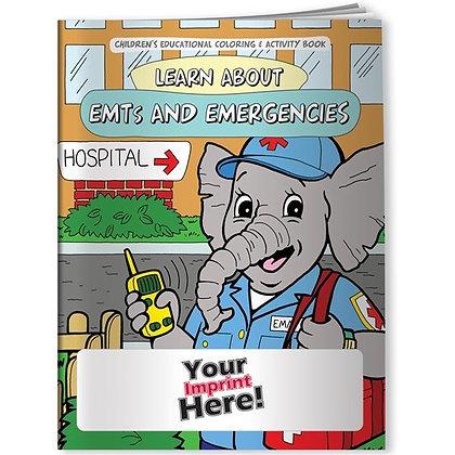 Coloring Book - EMTs and Emergencies